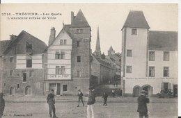 Carte Postale Ancienne De Treguier Les Quais Ancienne Entrée De La Ville - Autres Communes