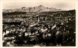 St. Gallen Mit Freudenberg U. Säntis (3101) * 28. 10. 1930 - SG St. Gall