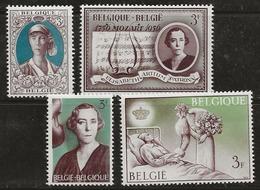 Belgique 1966 N° Y&T :   1363 à 1366 ** - Ongebruikt