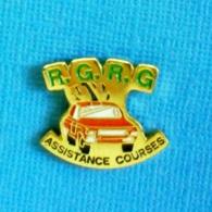 1 PIN'S //   **  R.G.R.G / ASSISTANCE COURSES ** - Autres