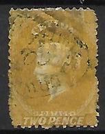CEYLAN    -   1863 .  Y&T N° 34 Oblitéré . - Ceylon (...-1947)