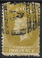 CEYLAN    -   1863 .  Y&T N° 34a Oblitéré . - Ceylon (...-1947)