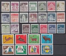 BERLIN 1966 ** POSTFRISCH KOMPLETTER JAHRGANG - Unused Stamps