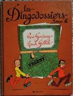 René Goscinny - Marcel Gotlib - Les Dingodossiers - Tome 2 - Dargaud - ( 1988 ) . - Gotlib