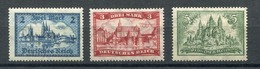 Deutsches Reich Mi Nr. 365-367* - Nuovi