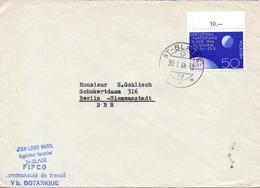 SUISSE. N°719 De 1963 Sur Enveloppe Ayant Circulé. Exposition Nationale De Lausanne. - Universal Expositions