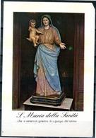 SANTINO - S. Maria Della Sanita' -  Santino Con Preghiera, Come Da Scansione. - Images Religieuses