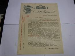 MARSALA  --TRAPANI    --  DISTILLERIA  ALCOOL  -- LIQUORI  - VINI --  C.& F. FRATELLI MARTINEZ  &CO. - Italia
