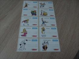 Asterix 10 étiquettes Autocollantes Handicap International Année 2013 - Zelfklevers
