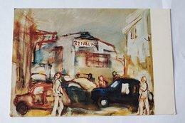 """RARA CARTOLINA 7° MOSTRA """" AI FRATI HAGARS DEL CARNEVALE """" ENRICO FRATESCHI - NINO LENCI - VIAREGGIO VECCHIA  1974 - Schilderijen"""