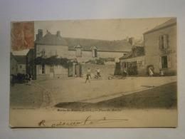CPA,Morée-St Hilaire,Loire Et Cher 41,voyagée 1905,TBE,pas Commun - Moree