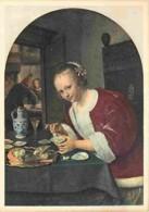 Art - Peinture - Jan Steen - De Oestereetster - Voir Scans Recto-Verso - Pittura & Quadri