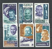 JORDANIA YVERT  554/59    MNH  ** - Jordania