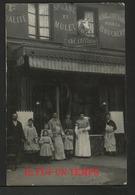 75 PARIS -  AD. ALLAIN - Achat De Chevaux Pour La Boucherie - SPte D'ANE Et MULET -1ère Qualité - CPA PHOTO A IDENTIFIER - Petits Métiers à Paris