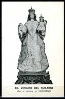 SANTINO - SS. Vergine Del Rosario -  Santino Con Preghiera Come Da Scansione. - Images Religieuses