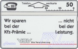 AUSTRIA Private: *VJV-Versicherung* - SAMPLE [ANK P80] - Autriche