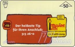 """TWK Österreich Privat: """"Fernwärme Wien - 50E"""" Gebr. - Oesterreich"""