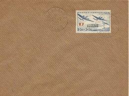 ARGELIA,  SOBRE CON SELLO AEREO - Argelia (1924-1962)