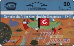 """TWK Österreich Privat: """"GdG-FSG 1 - 20"""" Gebr. - Autriche"""