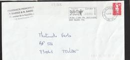 FLAMME TEMPORAIRE  44 SAINT NAZAIRE - Mechanical Postmarks (Other)