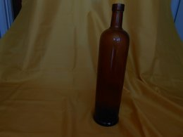 Bouteille Ancienne Verre Brun Suze - Other Collections