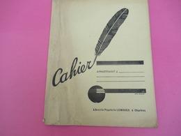 Couverture De  Cahier/ LEMOUES/ Librairie Papeterie à CHARTRES/ Eure Et Loir/Vers 1950            CAH193 - Papierwaren