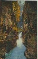 Bludenz V. 1910  Bürser Schlucht Mit Steg  (57358) - Bludenz