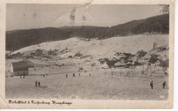 Rudolfstal Bei Reichenberg, Isergebirge - Winteransicht Mit Schifahrer Feldpost 1943 - Sudeten