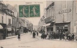 Z10- 36) ARGENTON (INDRE)  RUE GAMBETTA  - (ANIMEE - TABAC) - Frankreich