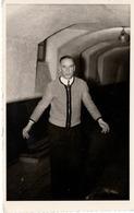 Mann Im Keller Weinkeller ? Ca 1950 - Fotografie