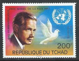Tchad YT PA 182 XX / MNH Nobel - Chad (1960-...)