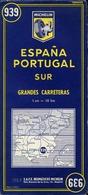 3 Cartes Routières Michelin (Espagne - Portugal) - (Italie - Suisse) - (France) - Cartes Routières