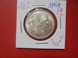 Régence :50 FRANCS 1949 FR BELLE QUALITE ARGENT (A.10) - 05. 50 Francs