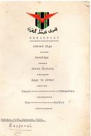 AVIATION -  Menu De Compagnie Aérienne - Breakfast -  10 Janvier 1949 - Bassorah - Sigle De La Compagnie Avec Un Aigle - Menus