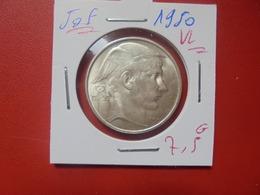 Régence :50 FRANCS 1950 VL BELLE QUALITE ARGENT (A.10) - 05. 50 Francs