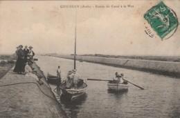 Z22- 11) GRUISSAN (AUDE) ENTREE DU CANAL A LA MER  - (ANIMEE) - Autres Communes