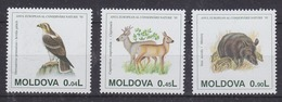 Moldova 1995 European Nature Protection 3v ** Mnh (44602) - Europese Gedachte