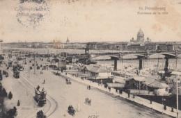 AK -Russland - ST. PETERSBURG - Panorama De La Ville 1908 - Russland