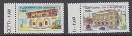 Europa Cept 1990 Northern Cyprus 2v  ** Mnh (44602A) - 1990