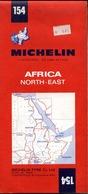 1 Carte Routière Michelin - Afrique Du Nord-Est N°154 - Callejero