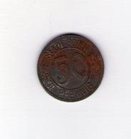 Stadt Bonn. 50 Pfennig. 1920 - Noodgeld