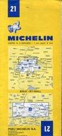 3 Cartes Routières Michelin - Les Grandes Routes De France (France-Nord) N°98 - Cartes Routières