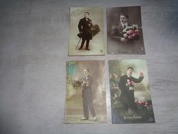 Beau Lot De 60 Cartes Postales De Fantaisie  Hommes  Homme   Mooi Lot 60 Postkaarten Van Fantasie Mannen Man -  60 Scans - 5 - 99 Cartes