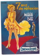 E 7 - 'SEPT ANS DE REFLEXION' - B. Wilder, Marilyn Monroe - Posters Op Kaarten