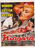 E 55 - 'NIAGARA' De Henry Hathaway Avec Marilyn Monroe, Joseph Cotten - Posters Op Kaarten