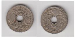 10 CTS 1928 - TYPE LINDAUER - Frankreich