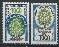 Togo YT 307-308 XX / MNH Réfugié - Togo (1960-...)