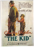 E 39bis - 'THE KID' - Charles Chaplin - Posters Op Kaarten
