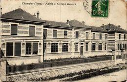 CPA CHAMPIER - Mairie Et Groupe Scolaire (433154) - Autres Communes
