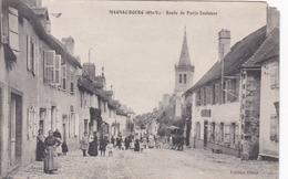 Cpa MAGNAC BOURG ROUTE DE PARIS TOULOUSE - France